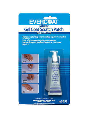 105653 Evercoat Marine Gel Coat Scratch Patch .5 oz  Buff White