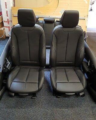 bmw f20 m sport leather seats  1 series interior 4 door cards
