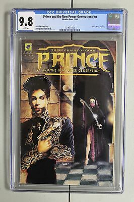 RARE Highest GRADED 9.8 CGC Prince the New Power Generation Three Chains of Gold