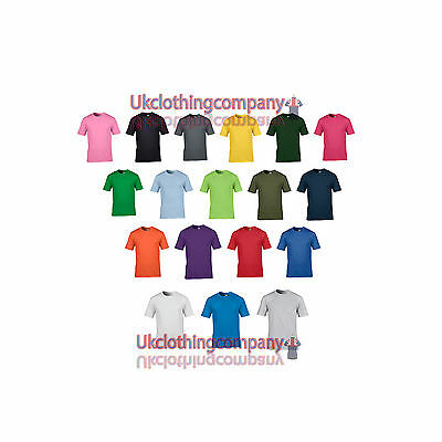 Gildan Premium Cotton Adult T-Shirt - Men's plain tops - S M L XL 2XL 19 Colours