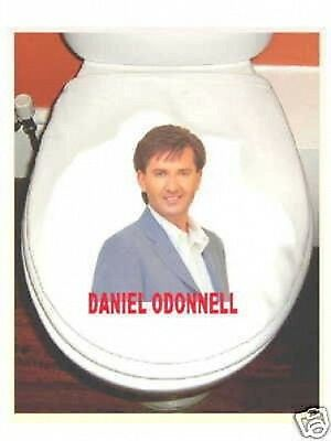 DANIEL O'DONNELL TOILET SEAT COVER washable cotton A MUST HAVE FOR ANY FAN!
