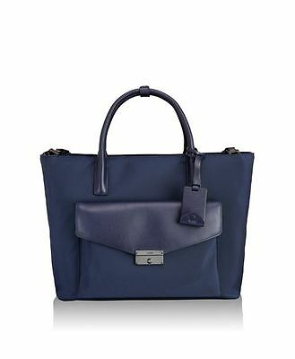 Tumi Larkin Small Tanya Travel Totes Blue