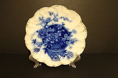 Blue And White Plate Victorian Maybe