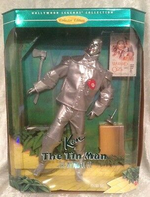 1995 NRFB WIZARD of OZ COLLECTOR EDITION KEN as the TIN MAN BARBIE DOLL