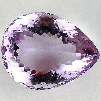 VVS 98 Cts Natural Huge Amethyst Certified AAA Premium Quality Bolivian Gemstone