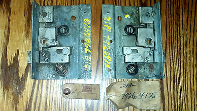 1946 1947 1948 Ford Station Wagon Woody Rear Door Latches Left and Right NOS