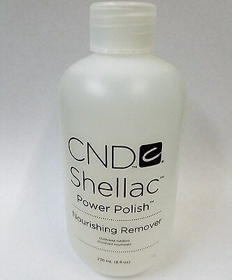 CND Vinylux Shellac Power Polish Nourishing Nail Polish Remover 8 oz / 236 mL