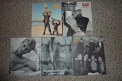 Lot of 5 Abercrombie & Fitch Catalogs