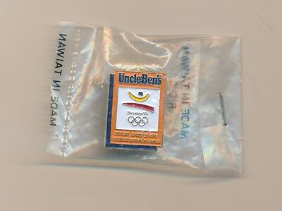 Uncle Ben's Offical Sponsor 1992 Olympic Summer Games Barcelona Pin