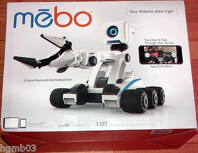 Mebo App Controlled Robot With 5-Axis Precision Controlled Arm
