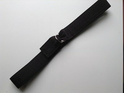 Toddler Belt Fabric Adjustable Black Boy useful