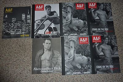 Lot of 7 Abercrombie & Fitch Catalogs