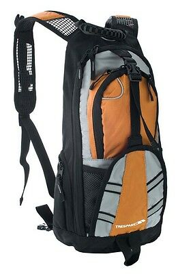 Trespass Survey 18l Hydra Pack 18 Liters Black   Orange Mochilas