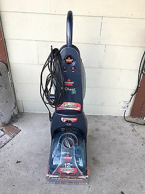 """BISSELL ProHeat 2X 9200 12 AMPS Pet Deep 10 Cleaning Rows Carpet Cleaner  """"USED"""""""