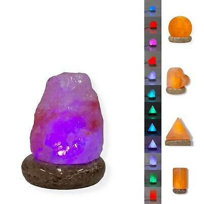 Himalayan Salt Lamp Colour Changing USB LED Color Change Blue Red Yellow & More
