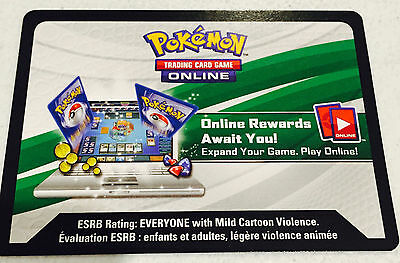 Pokemon TCG Online Booster Pack Code XY Roaring Skies- Code Emailed