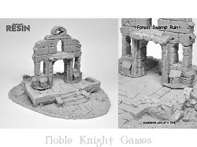 StudioLevel Mini Terrain 28mm Forest Swamp Ruin Pack MINT