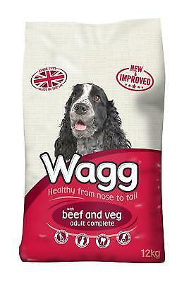 Wagg Dog Food Complete Beef And Veg Vegetable 12kg