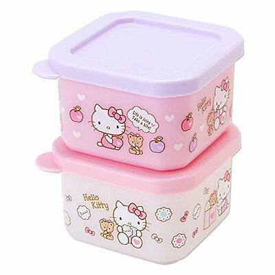SANRIO Hello Kitty lunch case S 2 pieces set(apple) from Japan F/S #1109 F/S