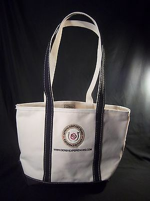 L.L.Bean Boat and Tote Kentucky Derby Experiences Natural Dark Blue XL
