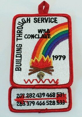 Section W5A Conclave  1979 Dual Patch with Pinback/BSA Boy Scouts