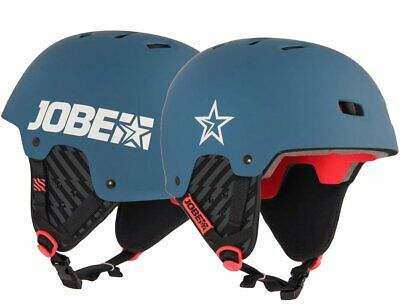 Jobe BASE WAKE helmet Helm Wakeboard Kite Surf Wassersporthelm Steel Blue