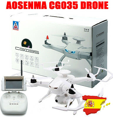 Drone aosenma cg035 camara 5.8ghz version rtf con doble gps y fpv follow me tft