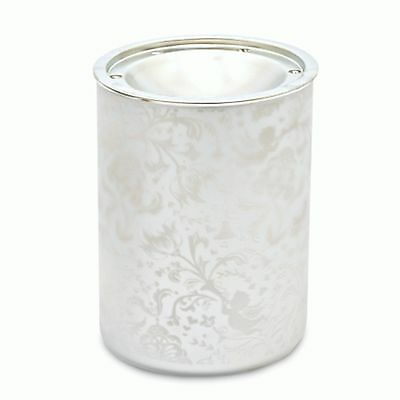 Wax Melt warmer - Glass Warmer Silver Angel Glass Design From Heart & Home …