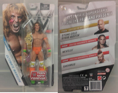 WWE Mattel Figur Exclusive Ultimate Warrior AUF LAGER - NEU - Then Now Forever
