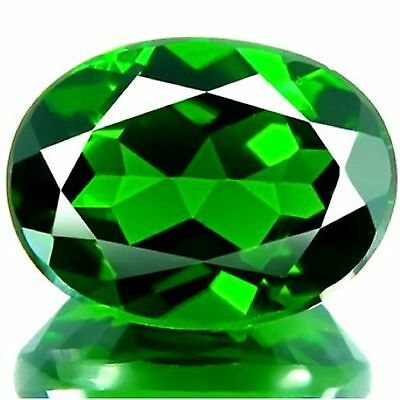 2.00 Cts Sparking Rare Russian Green Natural Chrome Diopside Gemstones