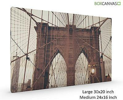 Modern Photo Canvas Wall Art New York City 01 Brooklyn
