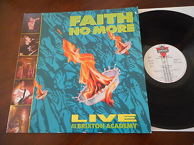 FAITH NO MORE Live At The Brixton Academy LONDON LP 1991 NM