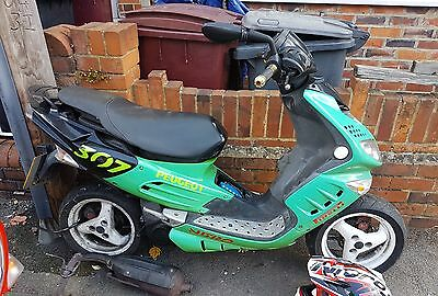 Peugeot speedfight 2 100cc spare or repair with lots of spares working engine