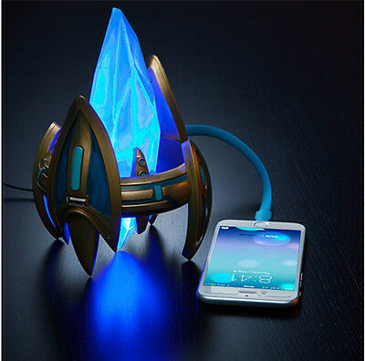 New StarCraft II Legacy of the Void Protoss Pylon USB Charger Station Blizzcon