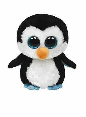 TY beanie boos Stofftier Plüschtier Waddles Buddy Pinguin Large FIX3 Kinder