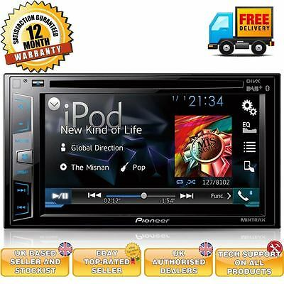 Pioneer AVH-X3800DAB Double Din DAB Bluetooth iPhone Android Car Stereo Screen