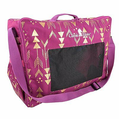 Classic Equine Boot or Accessory Tote Bag in Arrows Metallic
