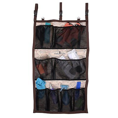 Classic Equine Hanging Groom Case in Boot Stitch