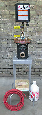 GasFluxer(R) Model G-96D brazing soldering inline gas fluxer unit with stand