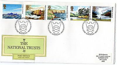 Great Britain 1981 The National Trusts First Day Cover