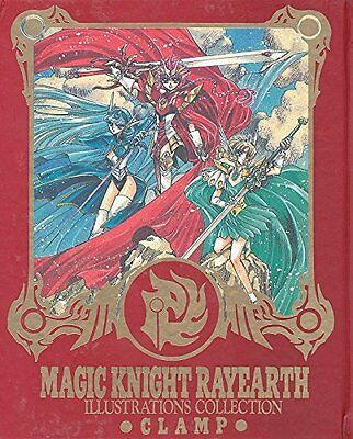 F/S Magic Knight Rayearth Illustration Book Art Collection CLAMP Japan anime