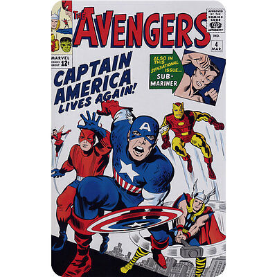 Avengers 4 (Marvel) Comic Book Cover Fridge Magnet