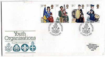 Great Britain 1982 Youth Organisations First Day Cover