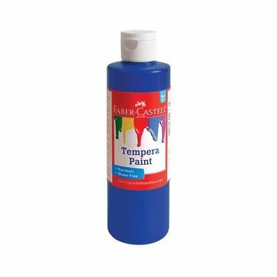 Faber-Castell Blue Tempera Paint (8 oz. bottle)