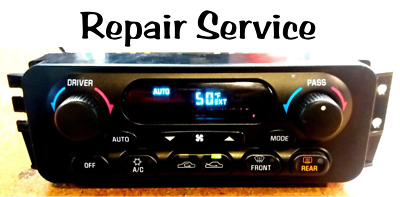 Oldsmobile Intrigue HVAC A/C Climate Control REPAIR SERVICE '98-'02
