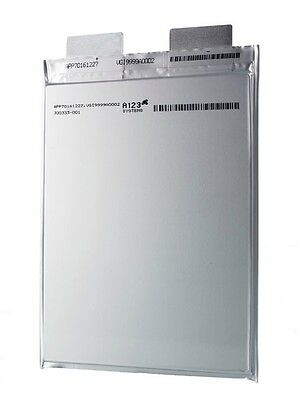 A123 AMP18 (AMP20) Pouch Battery Cell