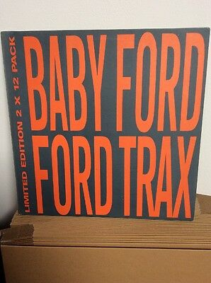 """Baby Ford : Ford Trax 2 x 12"""" Vinyl Album. EX ++ Condition Acid House Old Skool"""