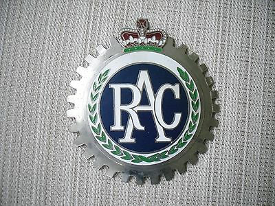 Vintage Royal Automobile Club Car grill badge - RAC emblem AUTO MAKE OFFER
