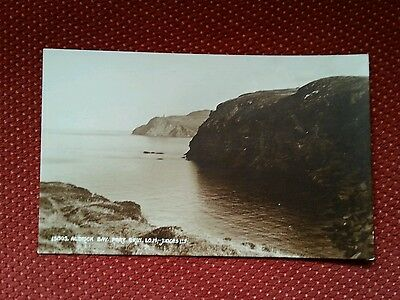 Sepia Aldrick Bay Port Erin The Sound Isle of Man Bradda Head IOM Manx