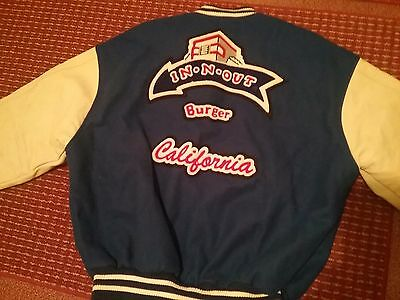 In-N-Out Burger Letterman Jacket - medium size M